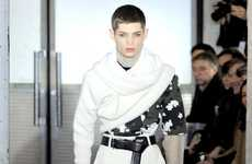 Androgynous Eye-Shadowed Catwalks