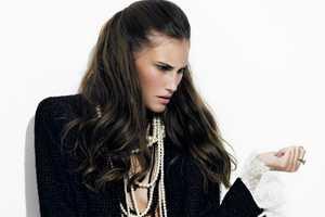 Claudia Petersen Dons a Chanel Wardrobe for BELANE