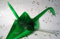 Seemingly Edible Origami - 'Jellogami' Created by My Jello Americans is a Tasty Art