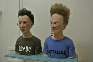 Kevin Kirkpatrick's Beavis and Butthead Look too Spooky to Be in This World