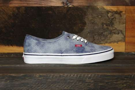 vans washed denim authentics
