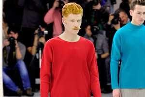 The Issey Miyake Fall/Winter 2012 Collection Offers Bright Design