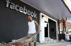Social Network Nightspots - The Facebook Nightclub in Brazil Has Borrowed the Website's Brand