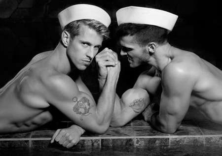 Steamy Splashing Sailor Shoots