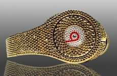 Sparkling Gilded Headgear