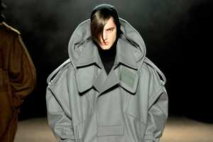 Juun J Fall/Winter 2012 Collection Offers Futurism in Big Proportions