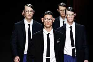 Kris Van Assche Fall/Winter 2012 Collection is Preppy and Modern
