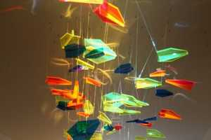 Rashad Alakbarov Beautifully Paints on Walls Using Light