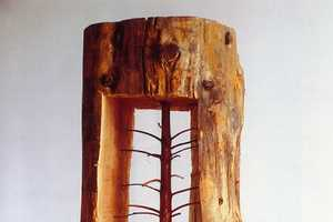 Guiseppe Penone Creates Art Within Tree Trunks