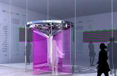 Smart Kinetic Energy Generation - Revolution Revolving Door