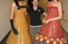 Inflatable Couture - Dresses Made Entirely of Twisted Balloons