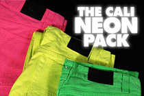 Neon Denim - Cali Glow In The Dark Denim
