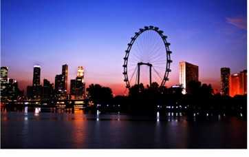 Asia's Tallest Observation Wheel - The Singapore Flyer Opens March 1