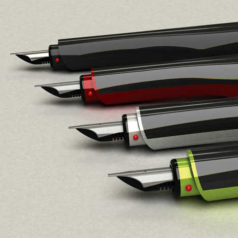 Digital Fountain Pen