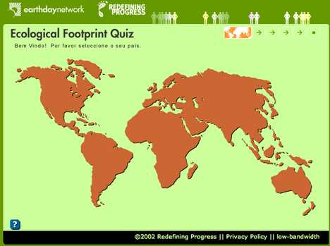 Ecological Footprint Quiz - How Many Planets Will You Need?