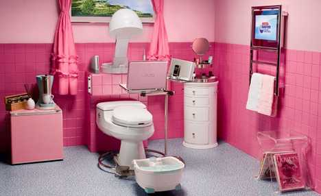 Pimped out Powder Room - RotoRooter