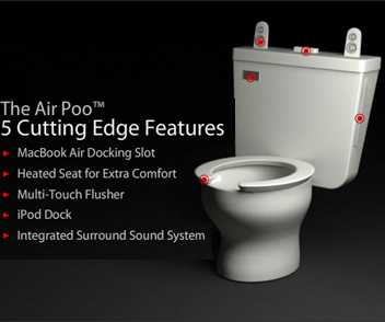 Apple Compatible Toilet