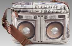 80s Tech As Modern Fashion - Paul Smith Ghettoblaster Bag