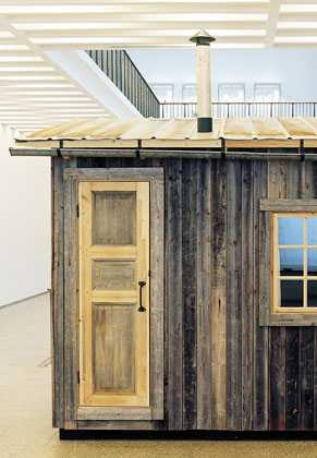 Recycled Swedish Barns - Hermit Cabin