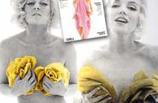Lohan Bares All To Be Monroe - Recreating The Last Sitting