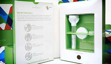 DNA Drool Detection - 23andMe Personal Genome Service