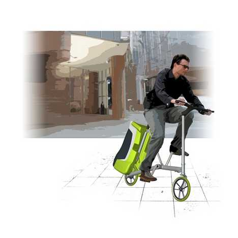 Compact Bicycle of the Future - Everglide Recharges Your Gadgets