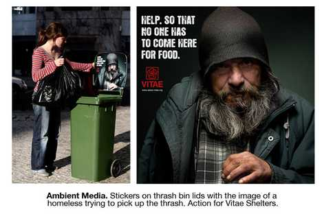 Guerrilla Campaign for Homeless