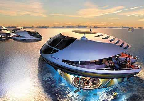 Semi-Submerged Eco Luxury Home - Trilobis 65