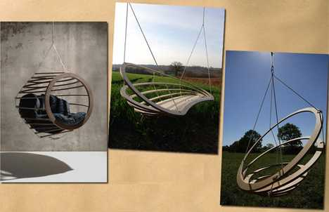 Suspended Pod Furniture