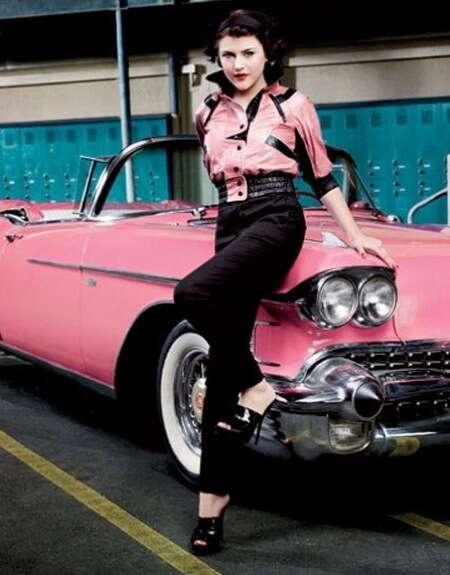 CelebSpawn Recreating Iconic Movies - Frances Cobain in Harper's Bazaar Shoot