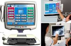 Touchscreen X-Ray Machine Has Fun Webgames & TV Too - The MEDIVista Medical Equipment