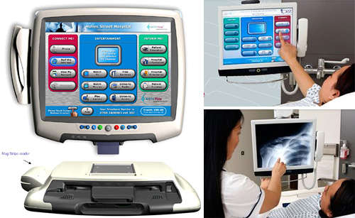 Touchscreen X-Ray Machine Has Fun Webgames & TV Too