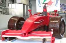Lifesize Formula 1 Car is Edible