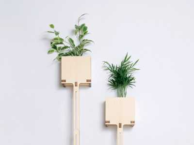 Flat Pack Garden Pot - Electricwig Design
