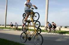 Quadruple Bicycle - Creative Octacycle Bike Design Tests Your Balance