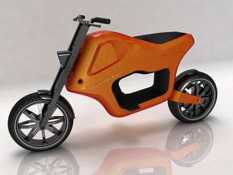 Green Commuter Makes a Statement - Thunderbolt Electric Scooter