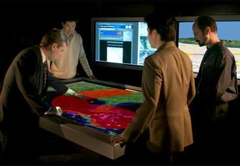Interactive Hands-on Collaboration System - TouchTable 84