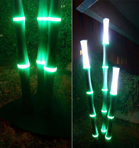 LED Bamboo Lights
