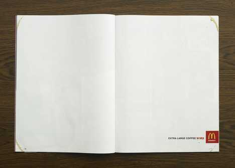 White Space in Ads - McDonalds Draws a Blank