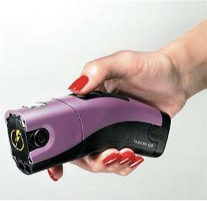 Taser Parties - Ladies Can't Stop Attackers with Plastic Containers