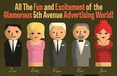 Ad Executive Toys - The Mad Men Playset Transforms Your Favorite Characters Into Dolls