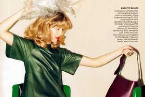 The Julie Frauche Vogue US February 2012 Shoot is Sweet and Chic