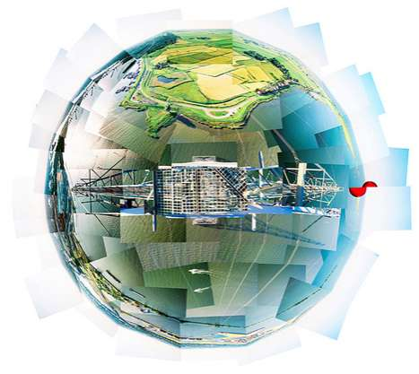Spherical Panoramic Photography - Wouter Van Buuren Creates Worlds of Vast Horizons
