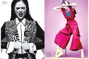 The Coco Rocha Flare Photo Shoot is Ladylike and Edgy