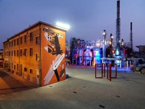 Shoe Street Art Festivals - Off Canvas Graffiti Festival by Converse to Grow Following in China