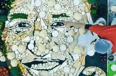 Giant Edible Faces