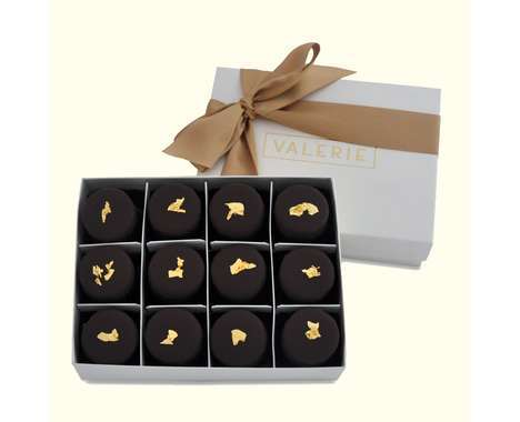 27 Lush Luxury Chocolates - From Diamond-Studded Desserts to Gold Leaf Chocolates