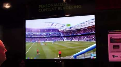 View-Controlling Technology - Technicolor's 'Personalized Content Rendering' Tracks Eye Movement
