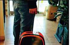 Gadget-Powering Luggage - The Rolling Suitcase Charger Provides a Boost for Technology