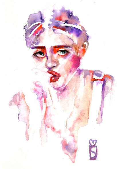 Jovially Glamorous Watercolors
